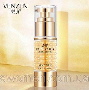 Уценка! Крем для глаз Venzen Pure Gold  Luxury Effect 35 g (мятая упаковка)