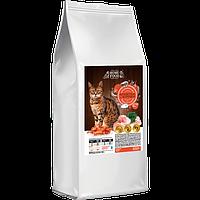 Сухой корм HOME FOOD с креветкой и курочкой 10 кг для взрослых котов и кошек