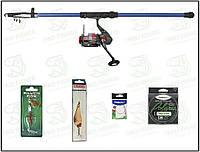 Компект для риболовллі. Спиннинг Akela 2.7м. тест 5-25. Котушка Sharpei 2000 №119