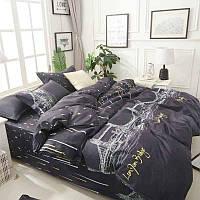 """Евро размер постельного белья из бязи """"Лондонский мост"""""""