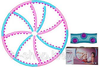 Массажный обруч Wide Hoop double massage ball (1,59 кг)