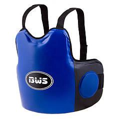 Защита для корпуса тренерская  мужская BWS DX сине-черная