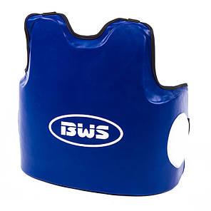 Защита для корпуса тренерская  мужская BWS DX сине-черная, фото 2