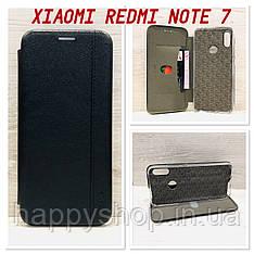 Чехол-книжка Gelius Leather для Xiaomi Redmi Note 7 (Черный)