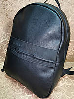Высококачественный рюкзак кожи GIORGIO ARMANI модный стиль для мужчин и женщин городской Только оптом