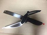 Кухонный нож-ножницы с разделочной доской для шинковки Clever Cutter, фото 2