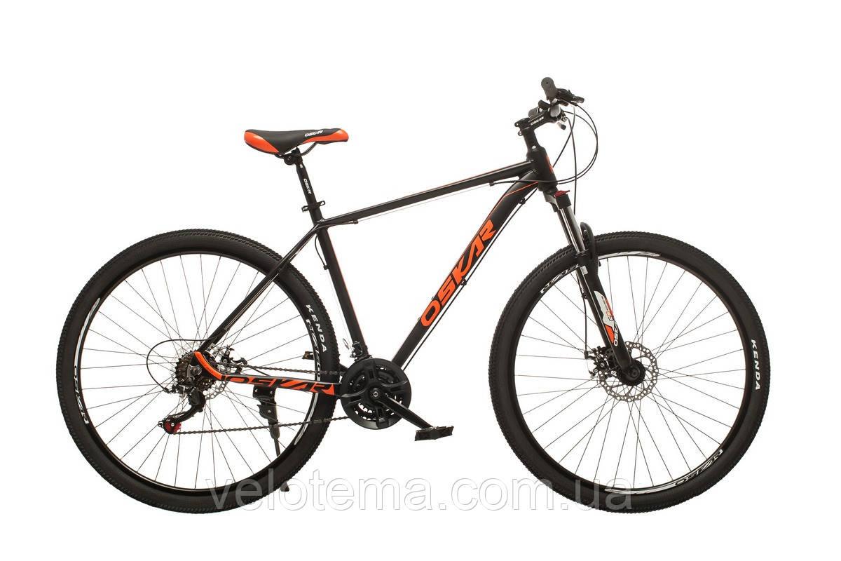 """Велосипед Oskar 29"""" M126 чорний"""