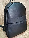 Высококачественный рюкзак кожи calvin klein модный стиль для мужчин и женщин городской Только оптом, фото 3