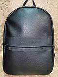 Высококачественный рюкзак кожи calvin klein модный стиль для мужчин и женщин городской Только оптом, фото 2