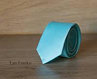 Галстук взрослый узкий однотонный | Lan Franko. Арт.:GMUO020