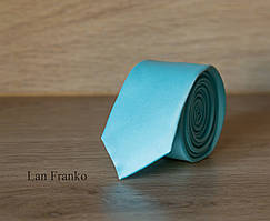 Галстук взрослый узкий однотонный   Lan Franko. Арт.:GMUO020