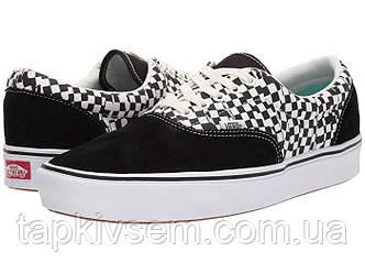 Кроссовки/Кеды мужские Vans ComfyCush Era (Tear Check) Black\True White 45 размер(оригинал привезены из USA)
