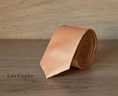 Галстук взрослый узкий однотонный    Lan Franko. Арт.:GMUO021