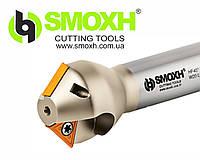 Фреза для фасок HF45 TC16 D14-35 W20 L100 Z02 SMOXH  Ø14-35 мм с мех. креплением пластин