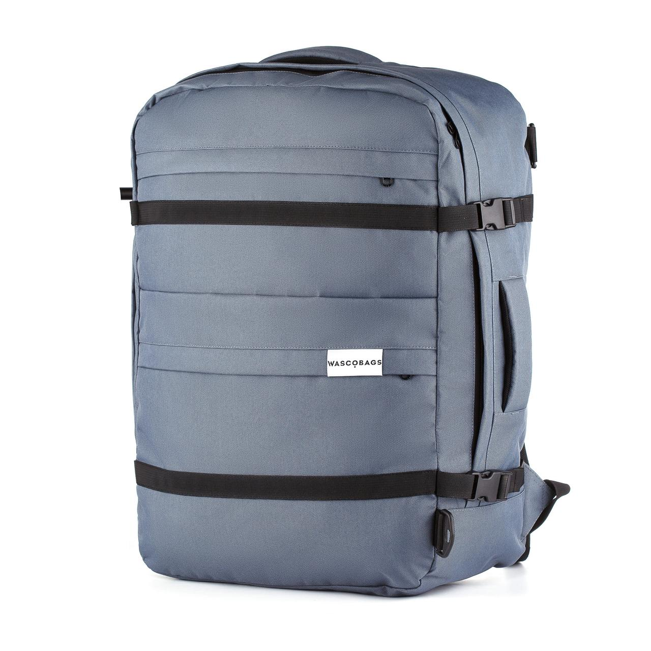 Рюкзак-сумка для ручной клади Wascobags Traveller 55x40x20 Графит