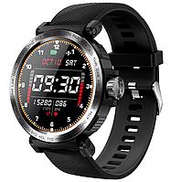 Сенсорные смарт-часы Smart Watch RS-17I Black, спорт часы, умные часы, наручные часы, фитнес браслет