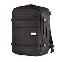 """Рюкзак для ручной клади Wascobags """"Traveller"""" 55x40x20 Черный"""