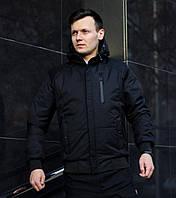 Куртка демисезонная мужская (Чёрная)
