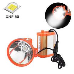 Ліхтар налобний шахтарський Small Sun ZY-H32-XHP50