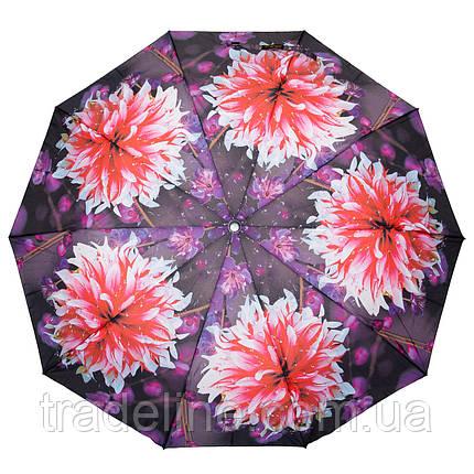 Зонт Жіночий Напівавтомат поліестер 471-3, фото 2