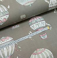 Водоотталкивающая ткань Duck воздушные шары на какао