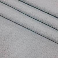 Вафельное полотно плетение ромбик цвет всетло-мятный  (шир. 2,30 м), фото 1