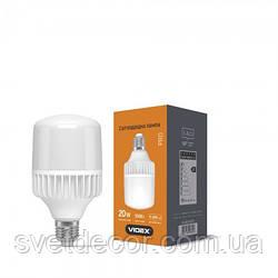 Світлодіодна лампа VIDEX A65 20W E27 5000K