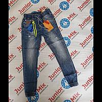 Подростковые джинсы для мальчиков на манжетах оптом  F&D