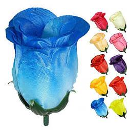 Бутон розы атлас 7.5 см(100 шт в уп)