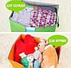 Органайзер кофр для хранения постельного и одежды, фото 5
