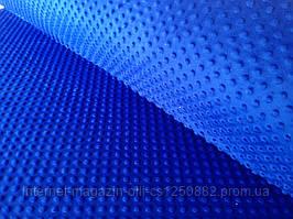 Плюшевая ткань Minky синяя (плот. 350 г/м.кв)