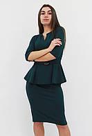 S, M, L, XL / Жіноче класичне плаття Venera, зелений