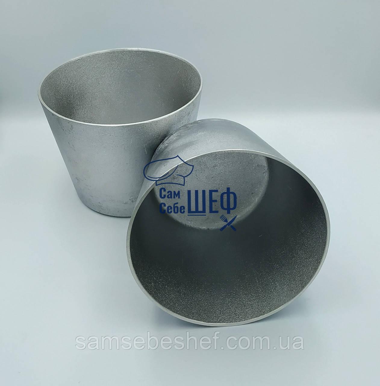 Форма для выпечки Пасхального кулича алюминиевая 0.75 л. А-13