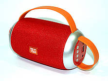 Беспроводная колонка 10W T&G TG112 в стиле JBL, FM Bluetooth MP3 USB microSD AUX, красная PR3, фото 2