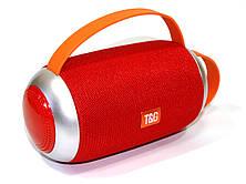 Беспроводная колонка 10W T&G TG112 в стиле JBL, FM Bluetooth MP3 USB microSD AUX, красная PR3, фото 3