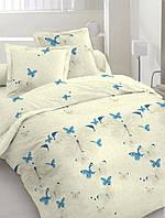 """Полуторный комплект постельного белья """"Яркие Бабочки"""". Ткань Бязь Голд Люкс. 100% хлопок"""