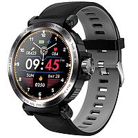 Сенсорные смарт-часы Smart Watch RS-17I Black & Gray, спорт часы, умные часы, наручные часы, фитнес браслет, фото 1