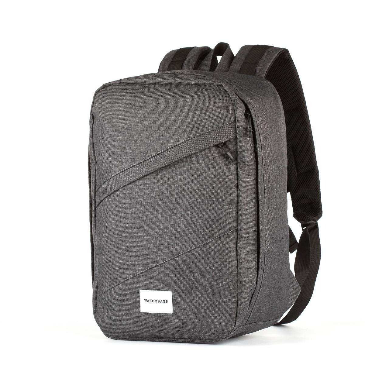 Рюкзак для ручной клади Wascobags 40x20x25 RW Меланж Темный