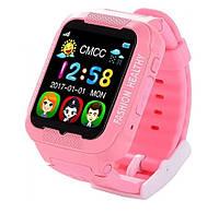 Smart Watch K3 Розовые | Умные детские часы с GPS трекером