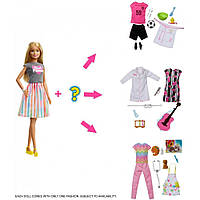 Кукла Барби Блондинка Я могу быть Профессия карьера сюрприз Barbie Surprise Careers with Blonde Doll