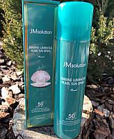 Солнцезащитный спрей для лица жемчуг JM Solution Marine Luminous Pearl Sun Spray SPF50+PA++++