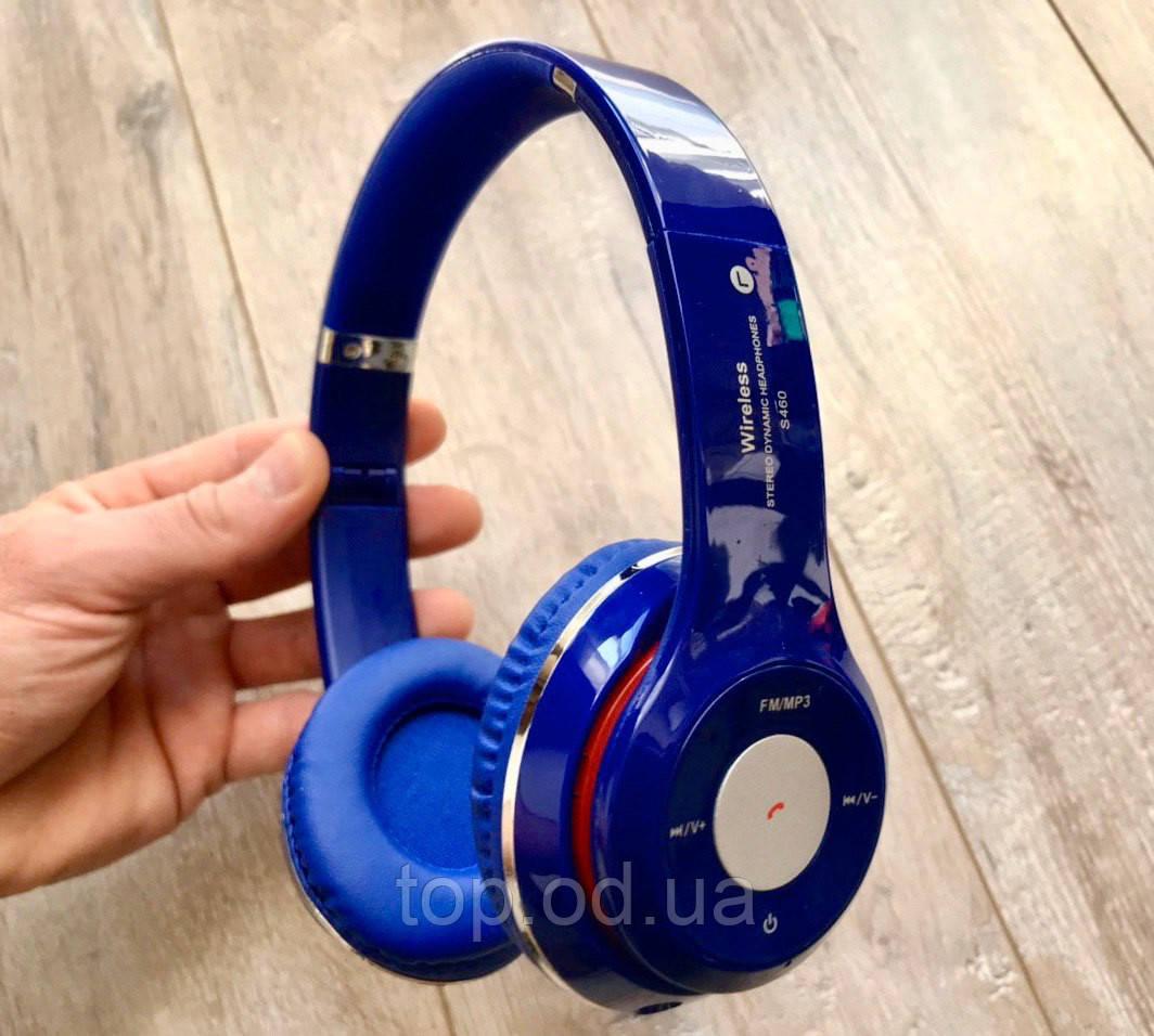 Наушники bluetooth беспроводные MDR S460 microSD