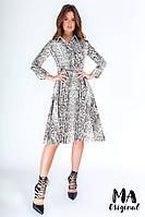 Платье - рубашка / костюмная ткань / Украина 7-2-613, фото 1