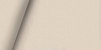 Хлопковая ткань польская белый горох на бежевом 4 мм