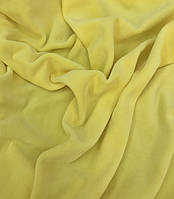 Велюр х/б светло-желтый, фото 1