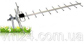 Наружная эфирная антенна  DVB-T антенна для эфирного цифрового телевидения DVB-T2 -19 элементов без усилителя