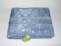 Простынь бамбуковая велюровая Cestepe Голубая 200х220