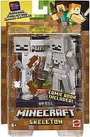 Фигурка Скелет Майнкрафт Minecraft Comic Maker Skeleton Action Figure оригинал Mattel