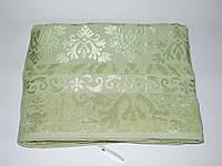 Простынь бамбуковая велюровая Cestepe Зеленая 200х220, фото 1