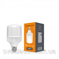 Світлодіодна лампа VIDEX A80 30W E27 5000K